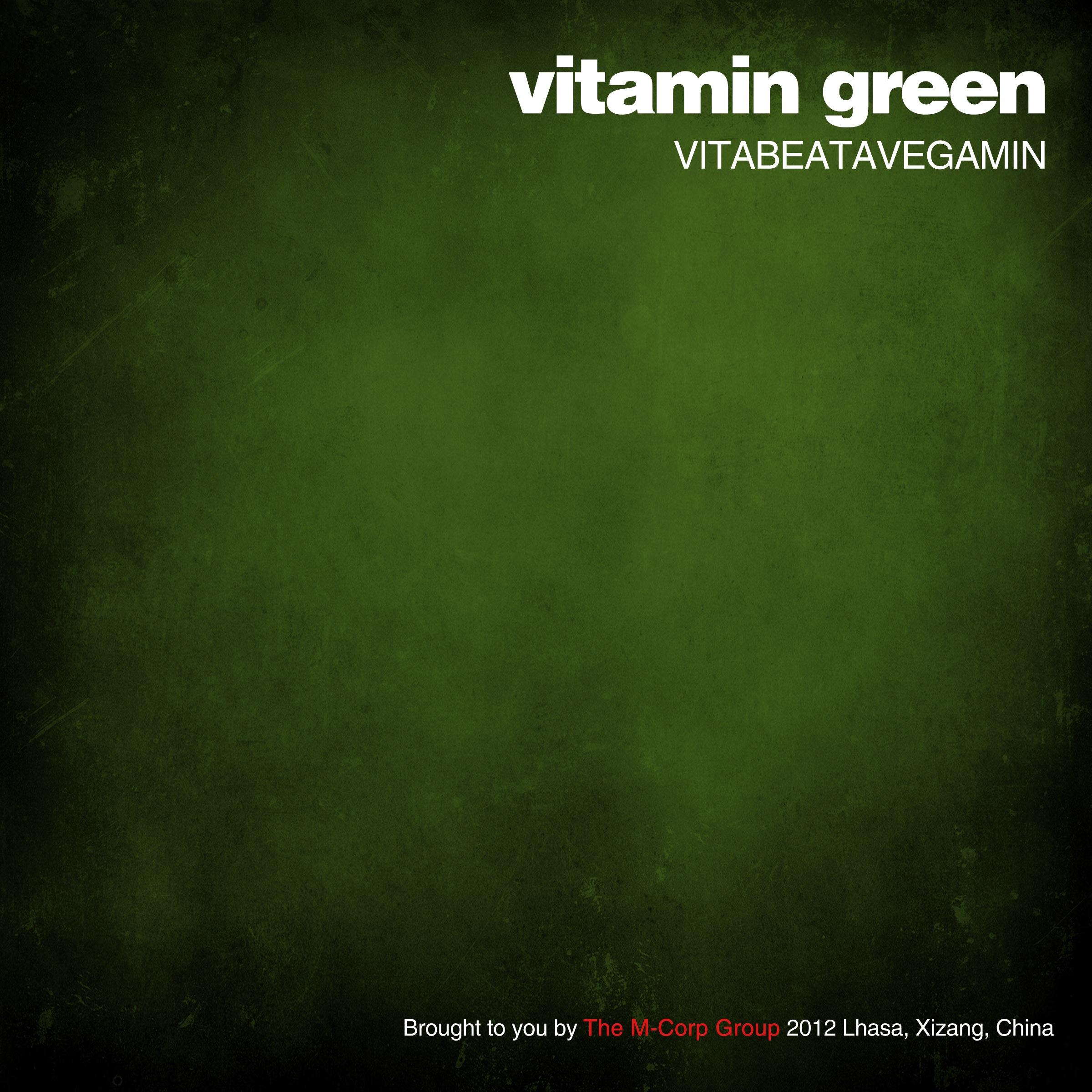 New Music: Vitabeatavegamin | Vitamin Green