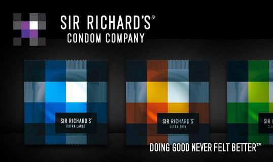 Sir Richard's Condom Company | Doing Good Never Felt Better