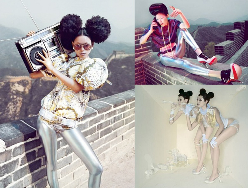 Art | Chen Man Photography [& M.A.C. Spring 2012 Collection]