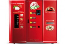Welcome To The Future: The World's First Pizza Vending Machine
