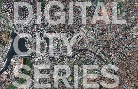 Art | The Digital City Series [Bernard Bolter]