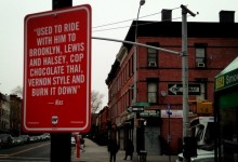 "The Neorevivalist | Jay Shells ""Rap Quote Street Signs"""